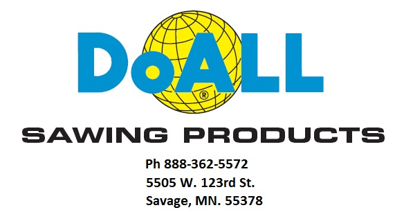 New doall logo with phone and address